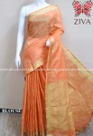 Ziva Pure Organic Linen Saree ( 4 pcs Catalog )
