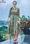Mittoo Belt Vol-4 Rayon Print Kurtis (7 pcs catalog )