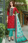 Kavya Zara Cotton Dress Material (10 pc catalog)