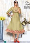Haseena Rayon Kurtis ( 10 Pcs Catalogue )
