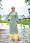 Mittoo Panghat Vol-10 Rayon Kurtis With Plazzo ( 6 pcs catalog )