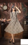 Fly Free Spring Rayon Kurti  ( 9 Pc Catalog )