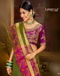 Lifestyle Meera Nx Vol-6 Party Wear Saree ( 6 Pcs Catalog )