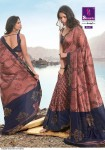 Shangrila Swarovski Vol-2 Georgette Party Wear Saree ( 8 Pcs Catalog )