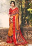 Sanskar Soft Viscos Panater Saree ( 10 Pcs Catalog )