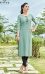 Mittoo Palak vol-19 Raoyon Kurtis ( 8 Pcs Catalog )