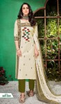 Alok Suit White Beauty Pure Cambric Dress Material ( 10 Pcs Catalog )