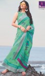 Shangrila Neha Pure Linen Saree (12 Pcs Catalog )