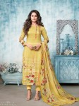 Sahiba Panache Cotton Satin  With Swarovski Dress Material ( 8 Pcs Catalog )