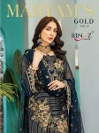 RINAZ FASHION MARYAM'S GOLD VOL-8 FOX GEORGETE EMBROIDERY DRESS MATERIAL (1).jpeg