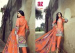 ALZOHAIB ROOHI VOL-2 LAWN COTTON PAKISTANI STYLE DRESS MATERIAL (11).jpeg