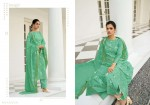 Kesar Karachi Falak Pure Lawn Cotton Khadi Print With Knot Handwork Dress Material (5).jpeg