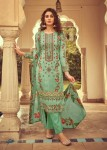 Mumtaz Arts Mairaa Lawn Cotton Party Wear Dress Material ( 10 Pcs Catalog )