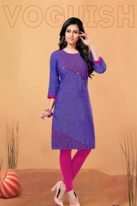 Kinti Disha Cotton Kurtis ( 10 Pcs Catalog )
