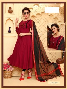 Fashion Talk Rich Girl Vol-1 Kurtis With Dupatta  ( 8 Pcs Catalog )
