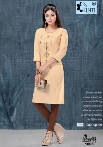 Kinti Prerna Handloom Cotton Kurtis ( 8 pcs catalog )