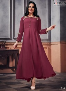 Kirara Panache Heavy Designer Wear Kurtis ( 5 Pc Catalog )