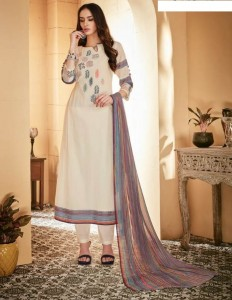 Jay Vijay Ehsaas Dress Material (11 pc catalog)