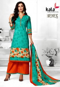 Kala Meher Vol-2 Dress Material ( 10 Pcs Catalog )