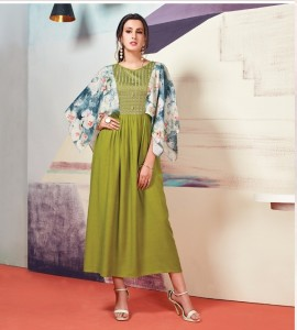 Eternal Cloud Vol-10 Kurti  ( 8 pc catalog )
