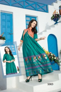 Fashion Talk Malkaa Rayon Kurtis ( 8 Pcs Catalog )