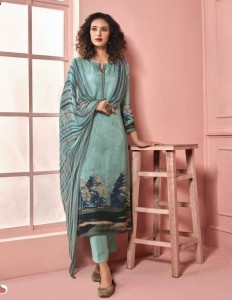 Sahiba Meraki Pashmina Dress Material (10 pc catalog)