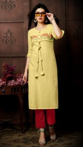Vitara Fashion Simran Khadi Kurti (5 Pcs Catalog )