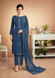 Bela Fashion Nazariya Vol-2 Muslin Suits ( 9 pc catalog)