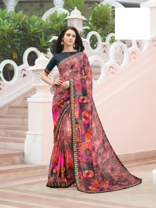 Shangrila Fortune Vol-2 Georgette Saree (12 Pcs Catalog )