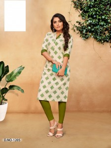 Rijiya Trends Casual Cotton Kurtis ( 8 pcs catalog )