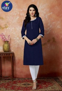Vitara Fashion Safina Kurtis ( 6 Pcs Catalog )