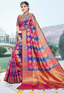 Shangrila Nitya Silk Vol-3 Saree ( 6 Pcs Catalog )