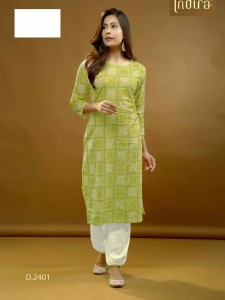 Indira Apparel Rangeen Top And Bottom ( 3 Pcs Catalog  )