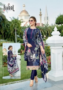 Ishaal Prints Gulmohar Vol-11 Dress Material (10 pc catalog)