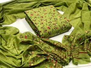 Pure Cotton With Mill Print Material (5 PC Set)