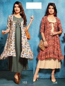 Fashion Talk Shana Kurti  ( 10  Pcs Catalog )