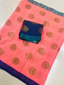 Aura SD-118 Soft Cotton Saree ( 2 Pcs Catalog )