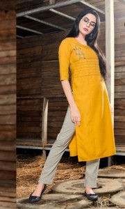 Rangkala Saniya Kurti With Pant ( 6 Pcs catalog )