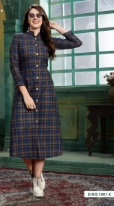 Vee fab Winter Grace Vol-4 Kurtis ( 6 Pc Catalog )