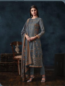 Sahiba Mugdha Pashmina Dress Material ( 12 Pcs catalog )