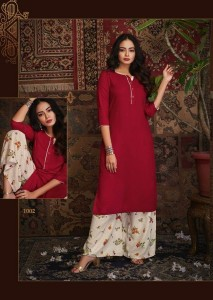 Rayan Kashvi Vol-1 Kurti With Plazo ( 8 Pcs Catalog )