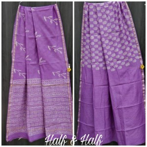 Exclusive New Hand Block Printed Chanderi Silk Sarees