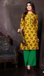 Fashion Talk Panghat Vol-2 Kurti With Plazo  ( 10 Pcs Catalog )