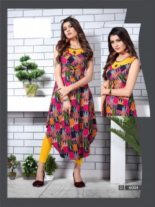 Fashion Talk Ureb Vol-6 Kurtis ( 10 Pcs Catalog )