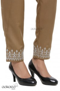 Aakara Heavy Embroidery Pants ( 7 Pcs Catalog )