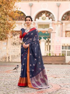 Rajtex Kalasiya Silk Saree ( 6 Pcs Catalog )