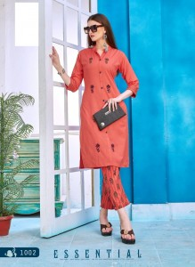 Kersom Anokhi Cotton Kurtis ( 8 pc catalog )
