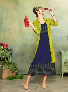 Kersom Saibo Cotton Kurtis ( 8 pc catalog )