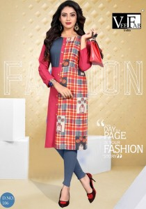 Vee Fab India Dream Girl Vol-2 Kurtis ( 6 Pcs Catalog )