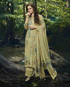 Sahiba Sudhriti Twisha Pashmina Dress Material ( 12 Pcs Catalog )